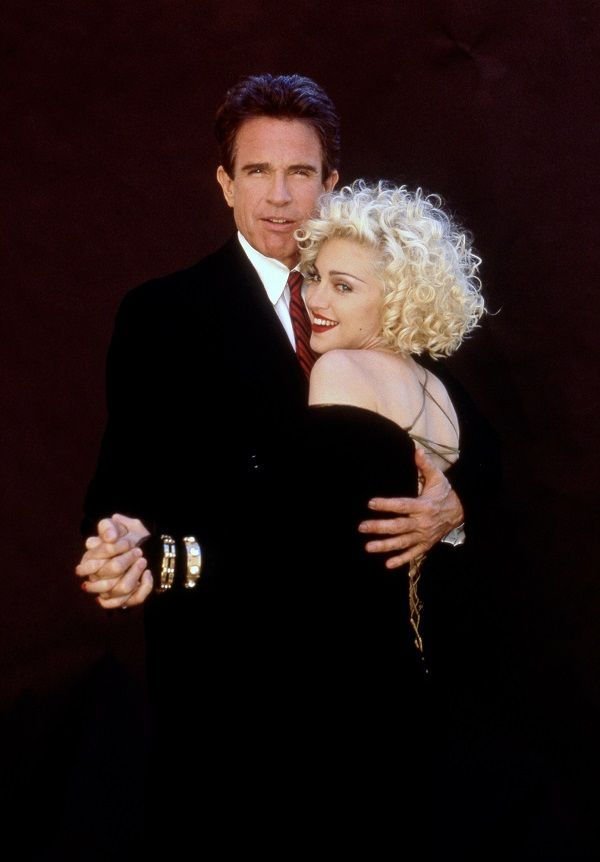 Warren Beatty and Madonna