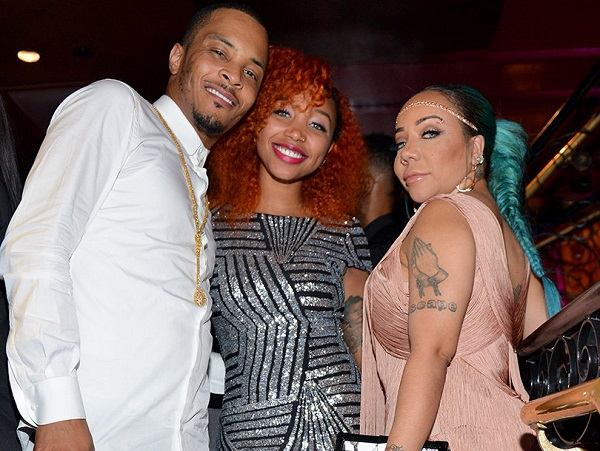 Source: toofab.com (Zonnique Pullins with her step-dad T.I. and mom Tameka (Tiny) Harris)