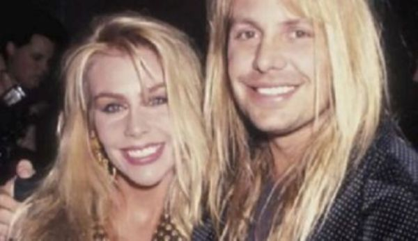 Source: Bravewords.com (Vince with ex-wife Sharise)