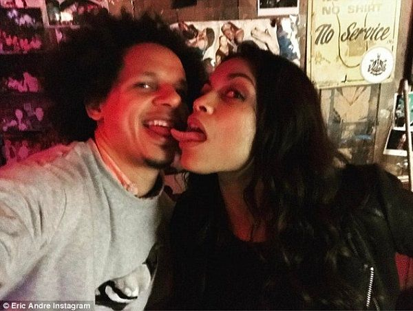 Source: Daily Mail (Eric Andre and Rosario Dawson)