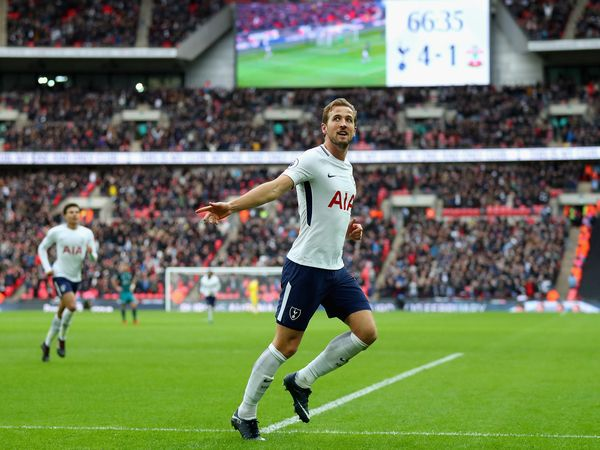 Harry Kane after scoring hat-trick againist Southampton