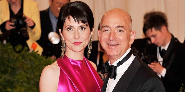Source: Huffington Post (Jeff Bezos and MacKenzie Bezos)