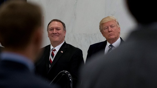 Source: Mint Press (Mike Pompeo and Donald Trump)