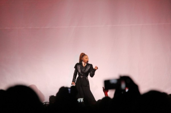 Source: Q104 Cleveland (Janet Jackson at Cleveland show)
