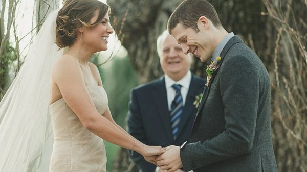 Source: ABC (Zach Gilford and Kiele Sanchez's Wedding)