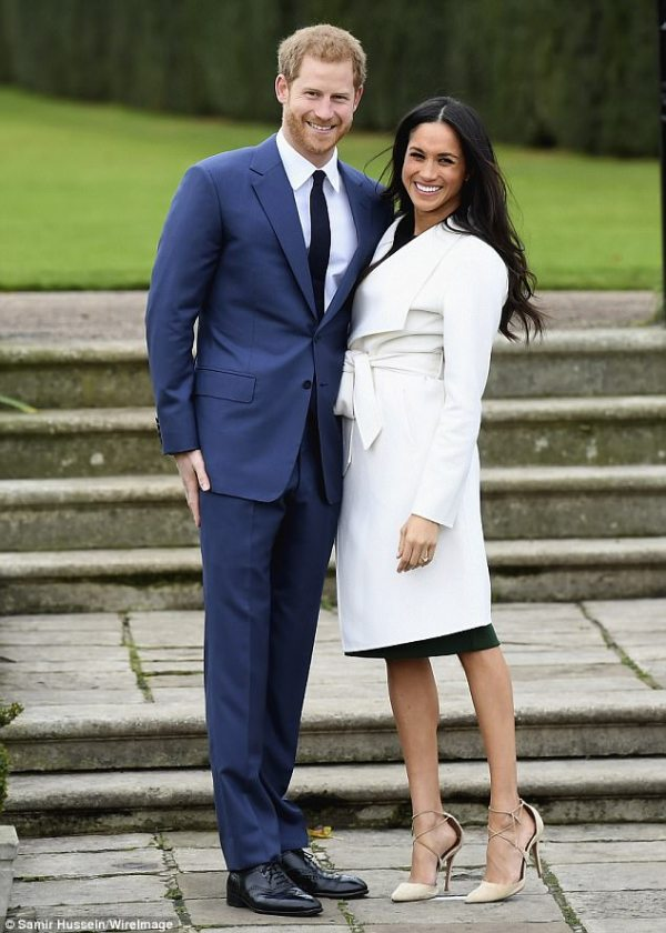 Source: Daily Mail (Prince Harry and Meghan Markle)