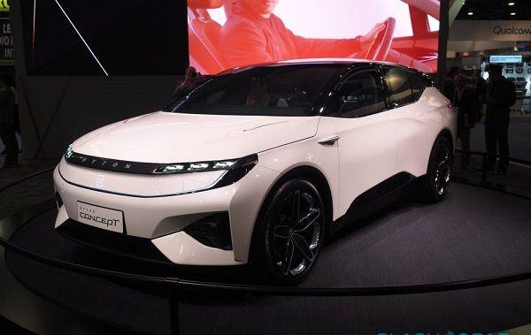 Byton's concept SUV