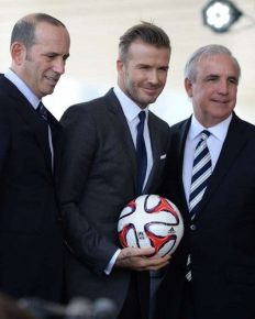 Manchester United legend David Beckham is all set to launch his new Major League Soccer team in Miami