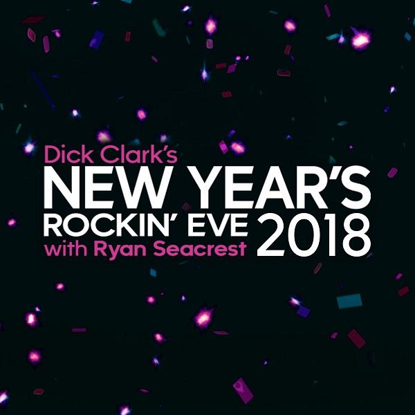 Source: newyearsrockineve.com (Dick Clark's New Year's Rockin' Eve 2018)