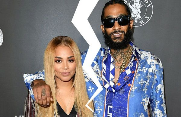 Source: Rap-Up (Lauren London and Nipsey Hussle split)