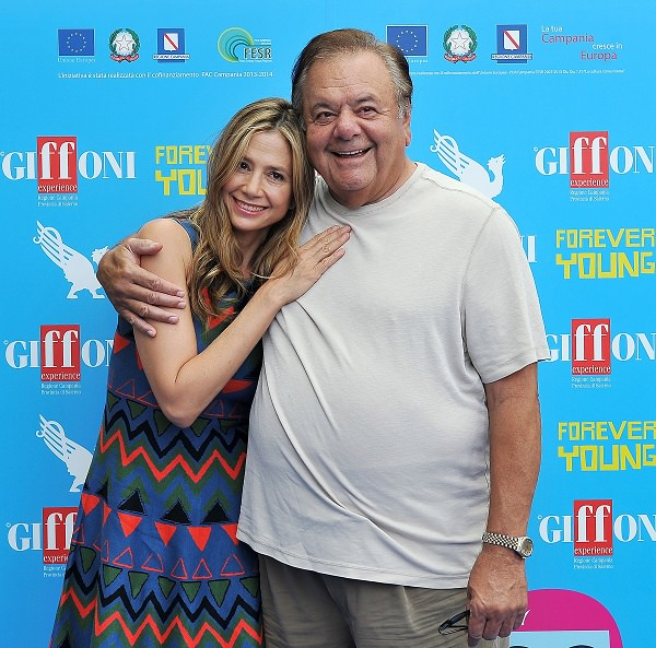 Mira and Paul Sorvino