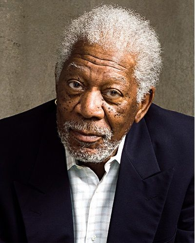 The legendary actor Morgan Freeman receives Lifetime ...