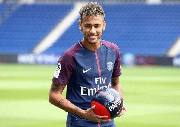 Neymar's official presentation at PSG