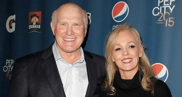 Terry Bradshaw with his wife Tammy