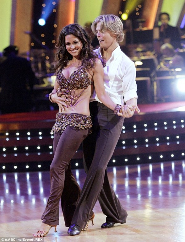 Source: Daily Mail (Brooke Burke on Dancing with the Stars)
