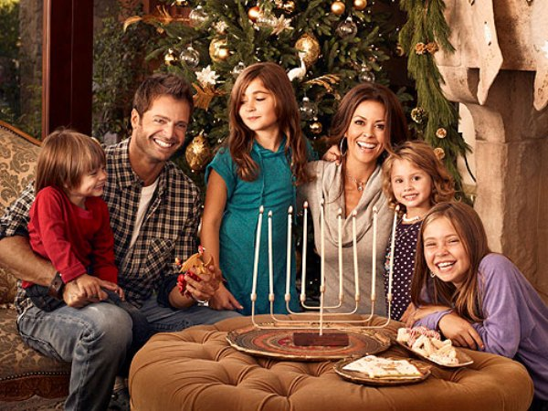 Source: People (Brooke Burke and her blended family)
