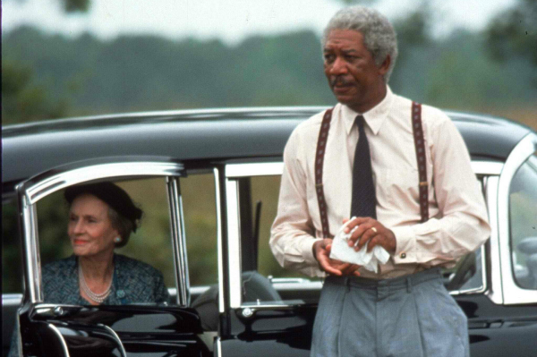 Source: Morgan Freeman with Jessica Tandy in Miss Daisy)