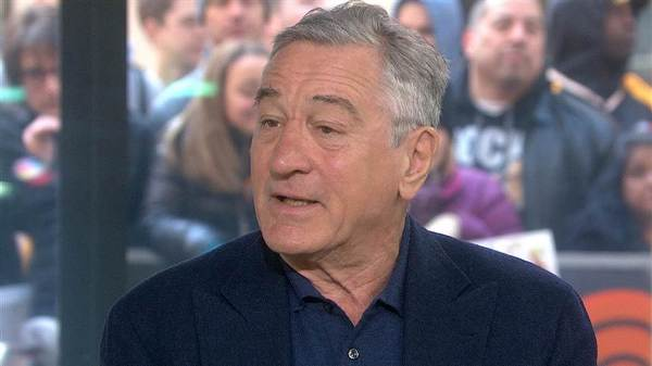 Source: Today Show (Robert De Niro)