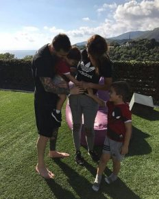 Barcelona legend, Lionel Messi and his wife Antonella Roccuzzo are expecting their third child as a son and also announced the name of their baby, Ciro