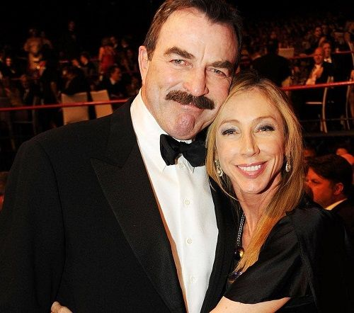 tom selleck with wife jillie - Married Biography