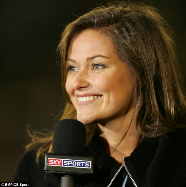 Clare Tomlinson, the Sky Sports presenter makes the ...