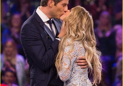 "Lauren Burnham and Arie Luyendyk Jr. are engaged on the show, The Bachelors. Arie's ex-Becca Kufrin says, ""Just hold her heart high – have the most respect for her, be committed to her…"""