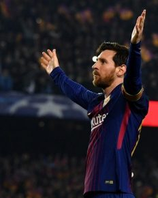 The Record Breaker: Lionel Messi scored his 100th Champions League goal as Barcelona thrashed Chelsea 3-0
