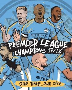 Manchester City has clinched the Premier League title as Manchester United faced a shock defeat to West Bromwich Albion at home