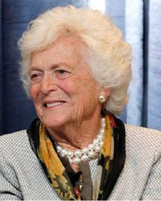 R.I.P. The Former First Lady of the US, Barbara Bush dies at the age of 92. Her husband, 43rd President of the US, George H.W. Bush was by her side till the end