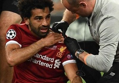 Liverpool's forward Mohamed Salah's injury while playing with Real Madrid. Also know about his salary, net worth, wife, relationship, age