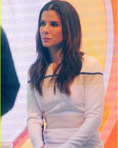 Sandra Bullock does the Today Show  – Married Biography