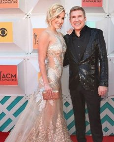 The cute relationship and talk between the father and daughter when they were on a show to promote their show, Chrisley Knows Best, Season 6