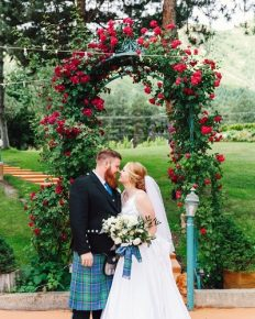 Childhood friendship turn into a beautiful marriage! Explore about Aspyn Brown and Mitch Thompson's marriage ceremony!