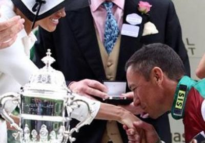 The stolen 'kiss' at the Royal Ascot that upset Prince Harry!