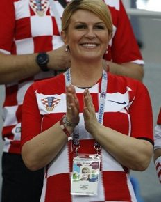 President of Croatia,Kolinda Grabar-Kitarović cant keep to herself over Croatia win in FIFA! Read about it here!