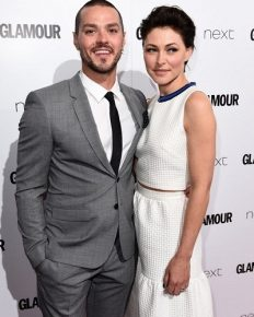 TV star Emma Willis and her singer husband Matt Willis celebrate their 10 years of marriage by saying 'I do' once again!