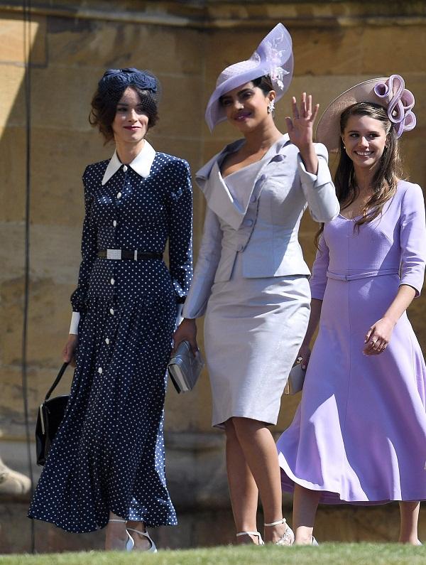 Priyanka at the royal wedding