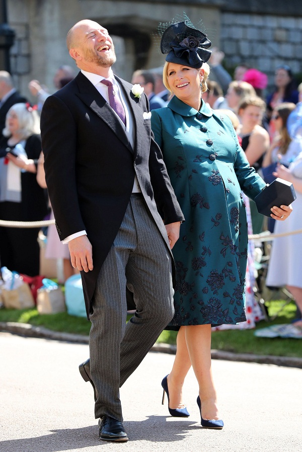 Zara Tindall Makes Her First Appearance In Public After
