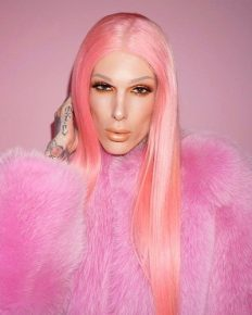 The latest weird beauty fad-eyebrow wigs! Jeffree Star is happy with the results!