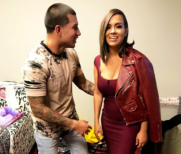Briana Dejesus and Javi Marroquin