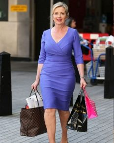English Presenter Carol Kirkwood provides update on how she found herself after her separation from her husband of 18 years Jimmy Kirkwood!