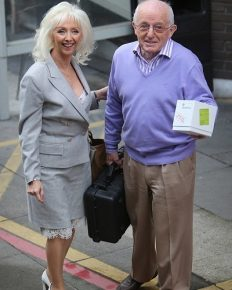 Debbie McGee gives a candid interview in which she states that she and her late husband were not as wealthy as people think them to be!