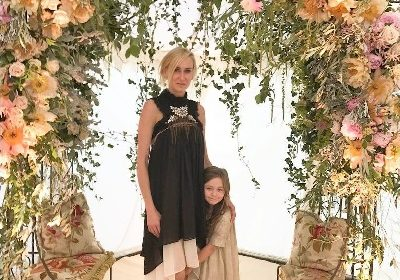 Kimberly Stewart shares her daughter Delilah's first day of school as she cheers on! Know about the mother-daughter and the baby's father!
