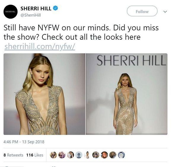 Sherri Hill NYFW