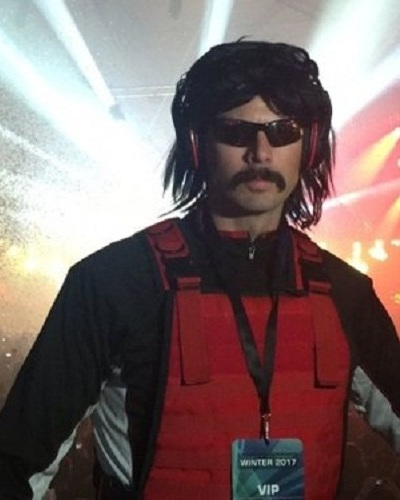 The Famous Twitch Streamer Dr. Disrespect Aka Guy Beahm