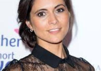 """Smokes and mirrors""-says Lucy Versamy on her glamorous looks on ITV as the weather girl for GMB"