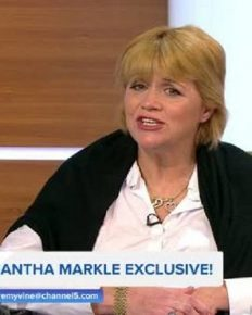 Samantha Markle lands uninvited at the gates of Kensington Palace to meet her half-sister Meghan Markle but is not allowed in!