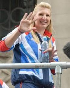 Rebecca Adlington talks about her new love Andrew Parsons!