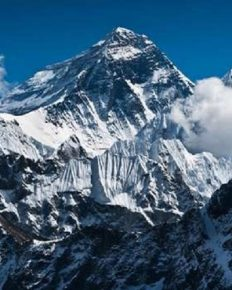 Celebrities who attempted the climb of Mount Everest!