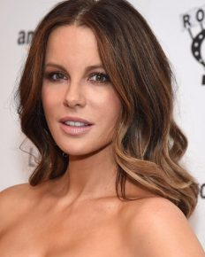 Kate Beckinsale fumes when a social media user asks her whether the young man with her was her son!